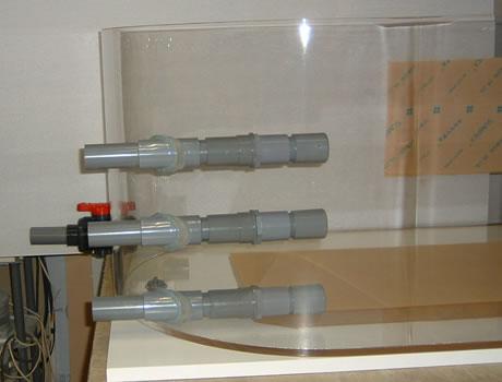 アクリル水槽/水槽・実験用も設置可能