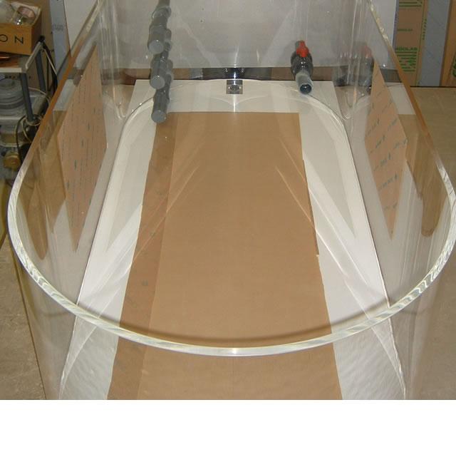 アクリル水槽/実験用水槽設置例