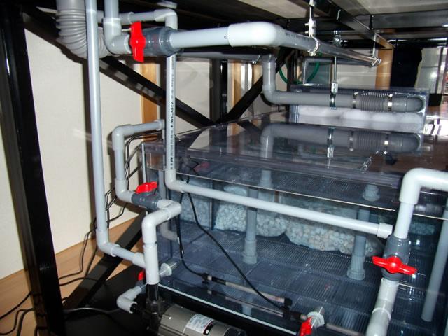 オーバーフロー水槽|アクリル水槽専門店