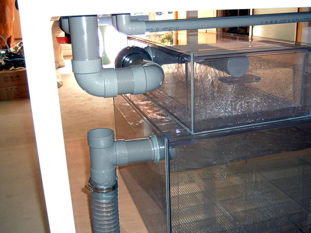 水槽内面4角R加工重合接着